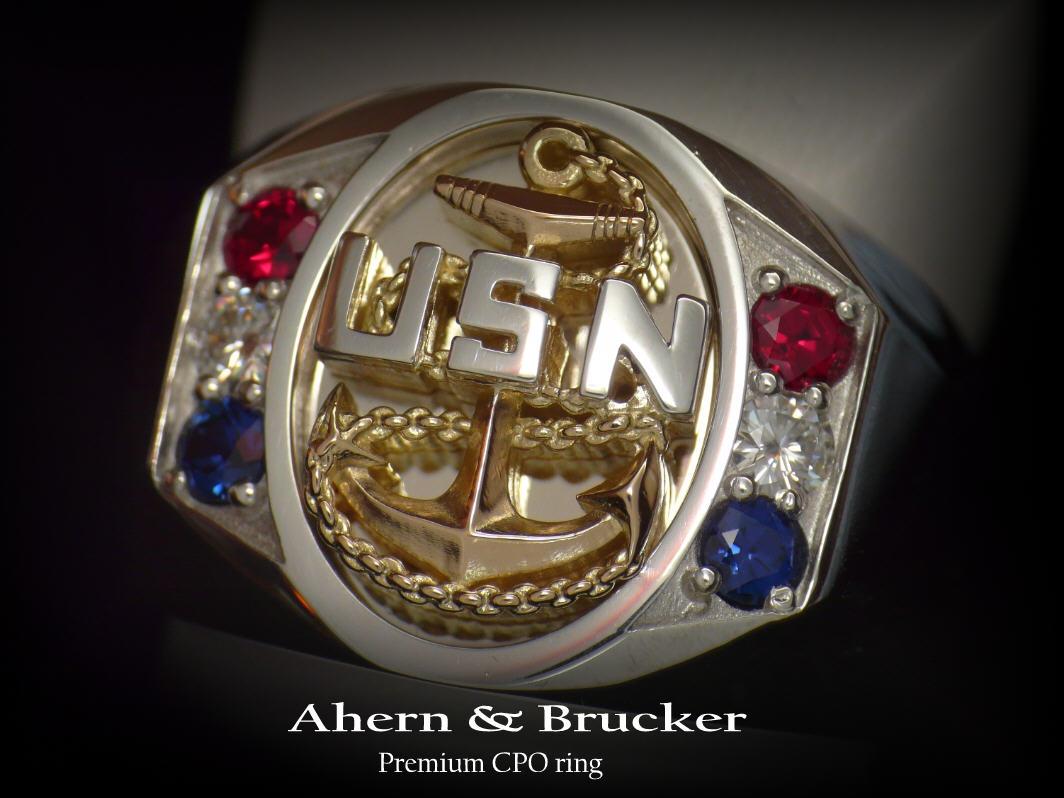 Ahern & Brucker Fine Military jewelry