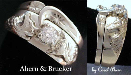 Ahern Brucker Wolf Wedding collection