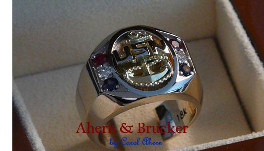 Ahern & Brucker Fine Military jewelry shop pics