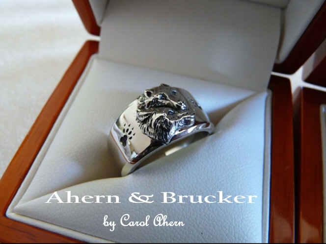 Ahern BruckerFine Wolf rings